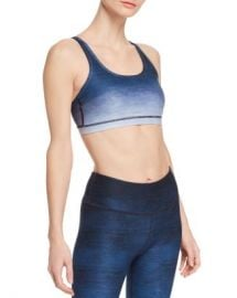 Wear It To Heart Ombr amp eacute  Strappy Sports Bra Women - Bloomingdale s at Bloomingdales