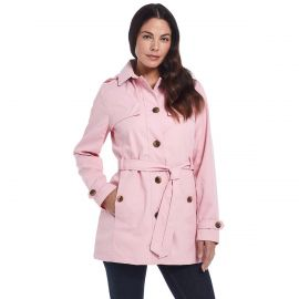 Weathercast Belted Trench Coat at Kohls