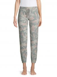 Weekend Love Camouflage-Print Pajama Pants at Lord and Taylor