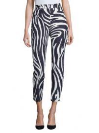 Weekend Max Mara - Zebra-Print Pants at Saks Fifth Avenue