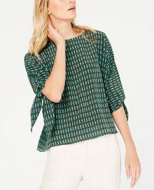 Weekend Max Mara Adone Printed Silk Shirt   Reviews - Tops - Women - Macy s at Macys