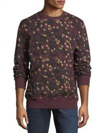 Wesc Miles Animal Printed Sweatshirt at Last Call