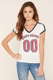 West Coast Graphic Top by Forever 21 at Forever 21