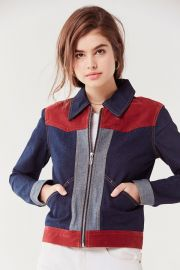 Western Colorblock Gas Jacket at Urban Outfitters