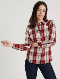Western Plaid Shirt at Lucky Brand