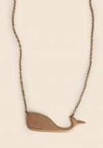 Whale necklace at Shop Ruche at Ruche