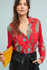 Whimsy Buttondown at Anthropologie