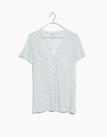Whisper Cotton V-Neck Pocket Tee by Madewell at Madewell