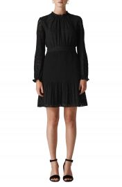 Whistles Animal Devor   Pleated Dress at Nordstrom