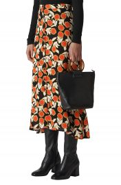 Whistles Dandelion Print Maxi Skirt at Nordstrom