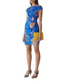 Whistles Exotic Floral Silk Blend Dress Women - Bloomingdale s at Bloomingdales