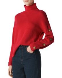 Whistles Funnel-Neck Wool  amp  Cashmere Sweater Women - Bloomingdale s at Bloomingdales