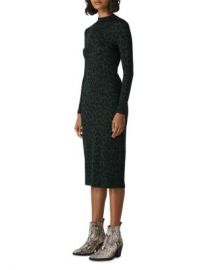 Whistles Leopard-Print Jersey Dress Women - Bloomingdale s at Bloomingdales