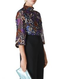 Whistles Montrose Printed Top Women - Bloomingdale s at Bloomingdales
