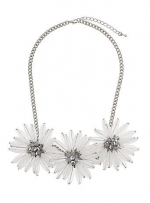 White Flower necklace at Dorothy Perkins