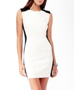 White colorblock dress from Forever 21 at Forever 21