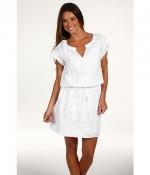 White cotton dress at 6pm
