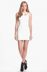 White cutout dress by ASTR at Nordstrom