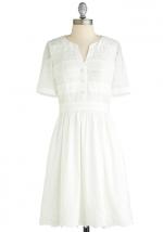 White dress like Emilys at Modcloth