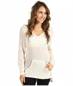 White hooded sweater like Emilys at Zappos