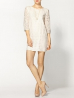 White lace shift dress at Piperlime