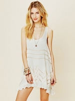 White loose dress from Free People at Free People