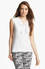 White ruffle top at Nordstrom at Nordstrom
