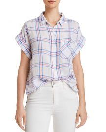 Whitney Plaid Shirt at Bloomingdales
