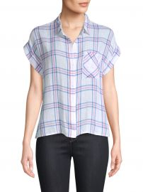 Whitney Stripe Short-Sleeve Top at Saks Off 5th