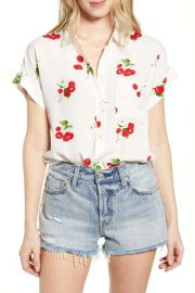 Whitney print shirt in Cherry Bloom at Nordstrom Rack