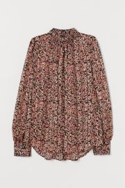 Wide-Cut Blouse at H&M