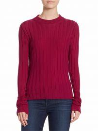 Wide Rib Merino Wool Top at Saks Fifth Avenue