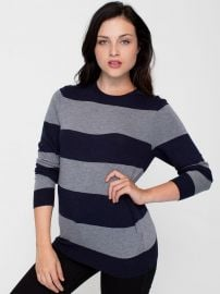 Wide Stripe Sweater at American Apparel
