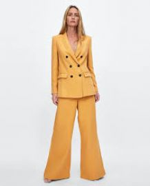 Wide leg pants at Zara