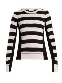 Wide-striped wool-knit sweater at Matches