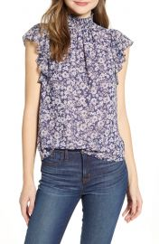 Wildflower bouquet blouse at Nordstrom
