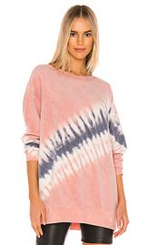 Wildfox Couture Roadtrip Sweatshirt in Royal Block Dye from Revolve com at Revolve
