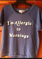 Wildfox Im Allergic To Mornings Sweatshirt at eBay