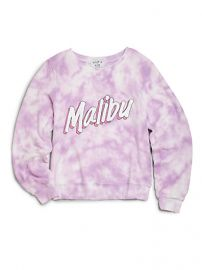 Wildfox Kids - Girls Tie-Dyed Malibu Sweatshirt at Saks Fifth Avenue