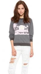 Wildfox Pink Island Sweater at Shopbop