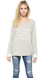 Wildfox Run Forever Sweatshirt at Shopbop