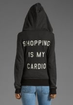 Wildfox Shopping is my Cardio hoodie at Revolve