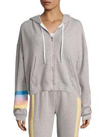 Wildfox Spectrum Marquis Rainbow Hoodie Sweatshirt at Wildfox