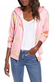 Wildfox Tutti Fruity Venice Full Zip Hoodie   Nordstrom at Nordstrom