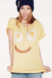 Wildfox Wakey Wakey Tee at The Trend Boutique