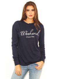 Wildfox Weekend I Love You Sweatshirt at Boutique to You