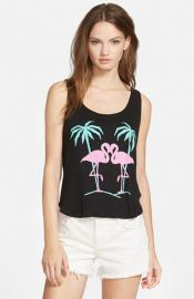 Wildfox and39Flamingos in Loveand39 Tank at Nordstrom