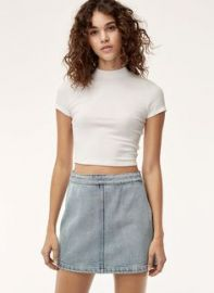 Wilfred Free Donyale Skirt in Light Vintage Blue at Aritzia