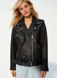 Wilfred Free Lennon Biker Jacket Relaxed at Aritzia