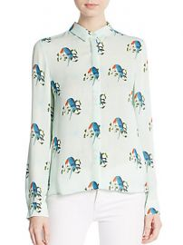 Willa Printed Blouse by Alice and Olivia at Saks Off 5th